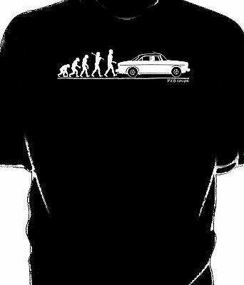 Evolution of Man, Rover P5B coupe t-shirt