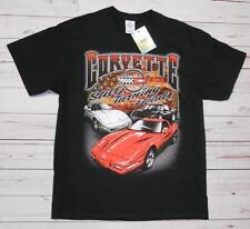 T-shirt CHEVROLET CORVETTE con cartellino ORIGINALE GM nera XL