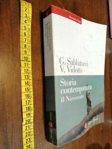 LIBRO-Storia-contemporanea-Il-Novecento-EDIZIONE-2009-di-Giovanni-Sabbatucci