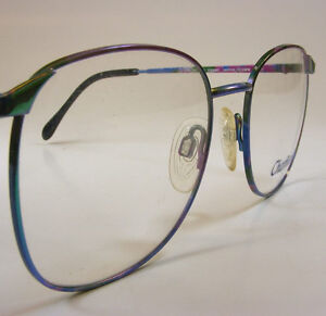 Color Changing Eyeglass Frame Charmant Japan Womens VTG ...