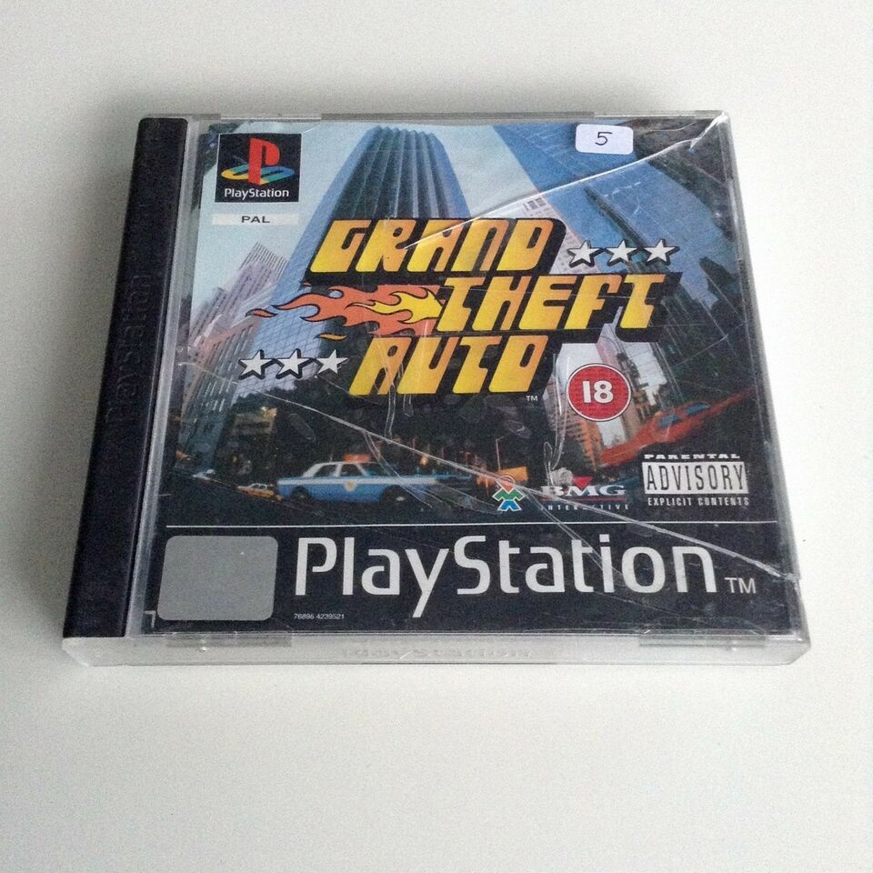 Grand Theft Auto, PS, adventure