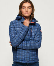 Superdry Womens Fuji Slim Double Zip Hooded Jacket