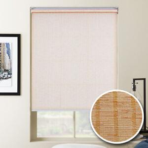 Window Blinds STRIPE Light Filterring Roller Shades Window Screen Custom Order