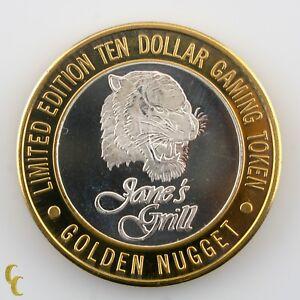 Jane-039-s-Grill-Golden-Nugget-Casino-Gaming-Token-999-Silver-Ltd-Edition