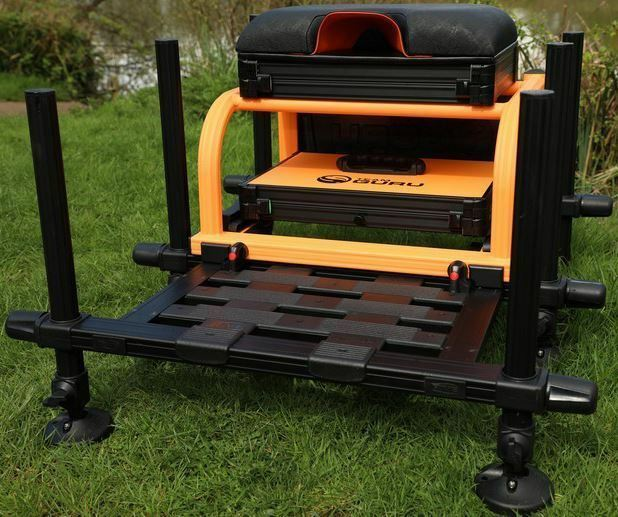 Team Guru Seatbox orange  Brand New 2018 - Free Delivery