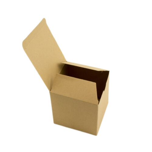 10pc 50pc Brown Kraft Square Boxes Paper Candy Party Favor Gift Box Wedding