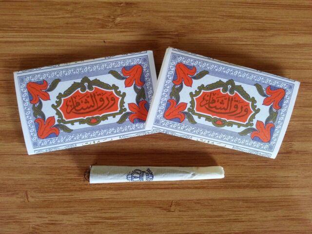 ( Papier De Damas ) Arabic Hand Rolling Paper 45 packs (Natural Cotton,No  Gum)