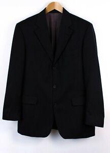 Hugo-Boss-Hombre-Da-Vinci-Lucca-100-Lana-Vestir-Blazer-Chaqueta-Talla-48