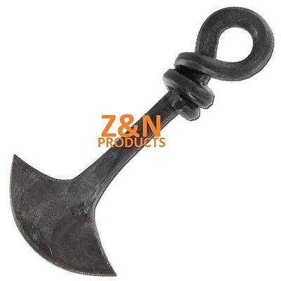 Hand Forged Pendulum Blade Medieval Mini Cheese Knife Black Finish Carbon Steel