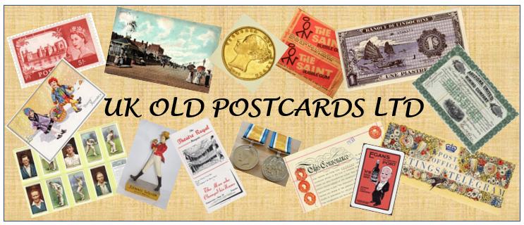 clivebakerukoldpostcards