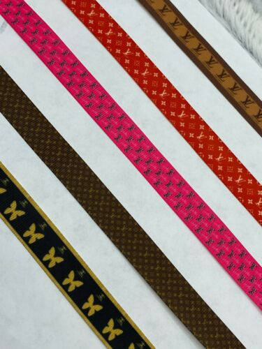 """Premium Fashion Grosgrain Ribbon By The Yard 5//8/"""" Wide Face Mask Tie Decoration"""