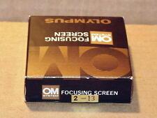 OLYMPUS OM FOCUSING SCREEN 2-13 NEW IN BOX