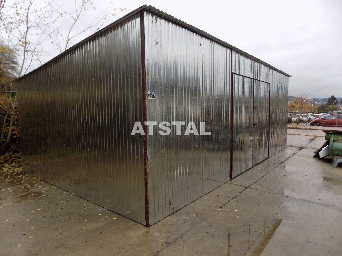 Blechhalle Blechgarage 6x10x2,5 Garage KFZ Lager mit Aufbau NEU