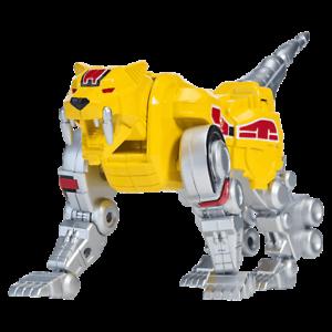 Bandai Power Rangers Legacy Sabertooth Tiger Dinozord Figure
