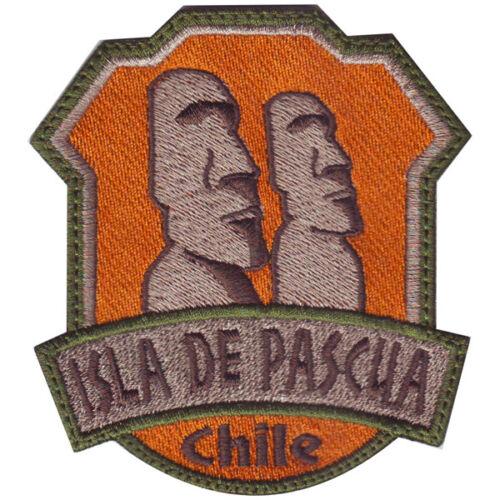 Isla de Pascua Chile Embroidered Patch