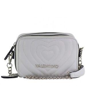 Schultertasche Fiona Damen Umhängetasche Valentino Abendtasche Grau UnHz6RHx