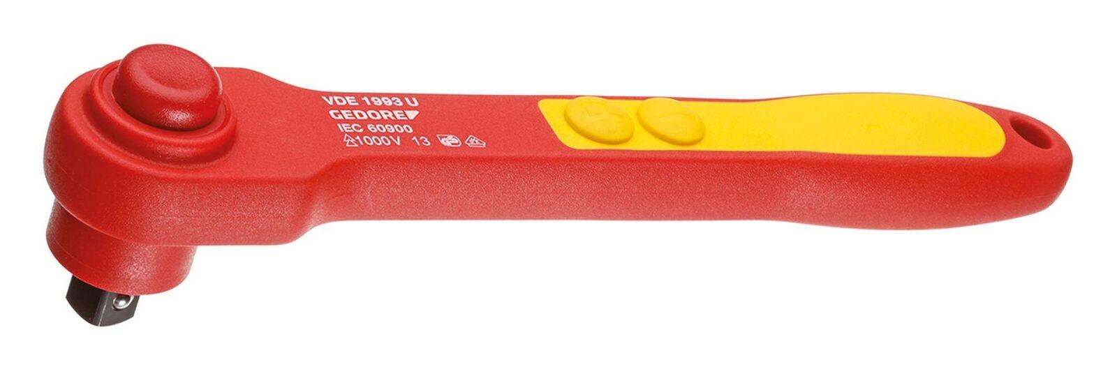 Gedore Umschaltknarre 1 2  Länge 270mm VDE - 6123910 | Attraktive Mode  | Moderate Kosten  | Niedrige Kosten  | Lebhaft und liebenswert