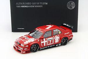 Alessandro-Nannini-Alfa-Romeo-155-V6-7-DTM-1993-WINNER-HOCKENHEIM-1-18-AutoArt