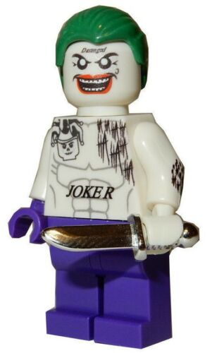 JOKER SUICIDE SQUAD **NEW** Custom Printed DC Comics Block Minifigure