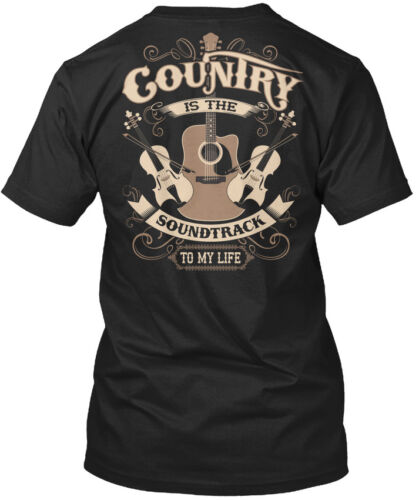 The Soundrack To Standard Unisex T-shirt Country Music Is My Life