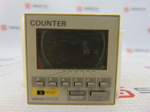 60 Hz OMRON H7CR-BV-500 Digital Counter 12-24 VDC 24 VAC 50