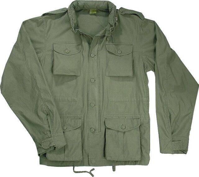 34593041f Lightweight Military M-65 Field Jacket Vintage Army Uniform Camo M65 Coat