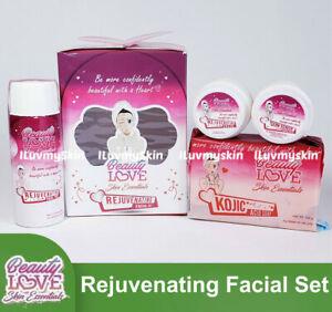 Beauty Love Skin Essentials Rejuvenating Facial Set