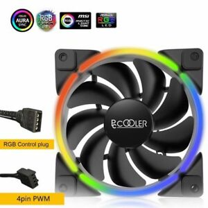 Pccooler-PC-CPU-Ventilador-De-Refrigeracion-Radiador-1800RPM-para-ASUS-Gigabyte-MSI-ASRock-Rgb