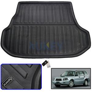 Rear-Trunk-Mat-For-Subaru-Forester-2003-2008-Cargo-Boot-Liner-Floor-Tray-Carpet