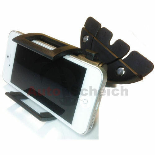 CD DVD Slot Car Universal Cell Phone Smartphone Holder Mount Truck