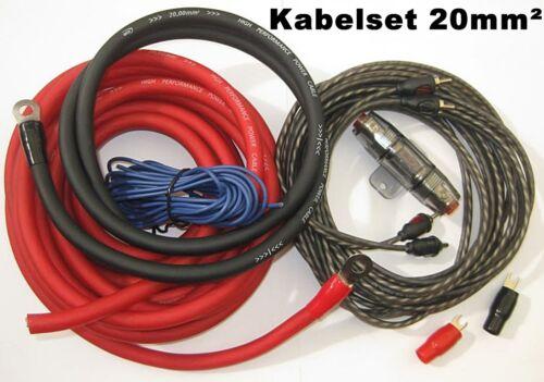 ACV kabelset 20mm² cable set para montaje etapa final tras