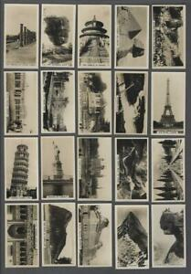 1927-Carreras-Views-of-the-World-Tobacco-Cards-Complete-Set-of-27