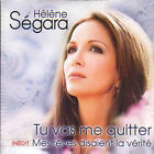 CD single Card sleeve Helene SEGARA Tu vas me quitter 2-TRACK card sleeve
