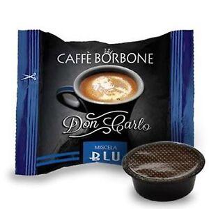 100-capsule-caffe-BORBONE-miscela-BLU-compatibili-Lavazza-a-Modo-Mio-cialde