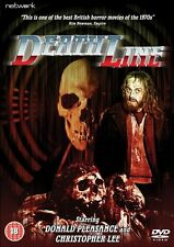 Deathline - Uncut DVD NEW & SEALED - Donald Pleasence, Christopher Lee
