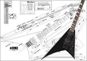 Jackson rrv wiring diagram diy wiring diagrams jackson randy rhoads electric guitar plan ebay rh ebay com jackson kelly wiring diagram jackson asfbconference2016 Images
