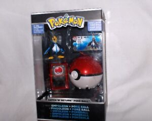 Pokemon-pokeball Mit Pokemon figur Impoleon Catch`n Return Neu,ovp,lizenz Mangelware