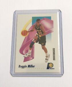 Reggie Miller 1991-92 Fleer SkyBox Basketball #114 Indiana Pacers Mint