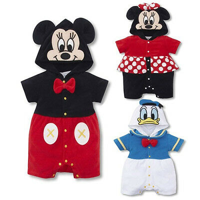 Baby Boys Girls Animal Costume Bodysuit Outfit Romper Clothes Set size 6M-24M