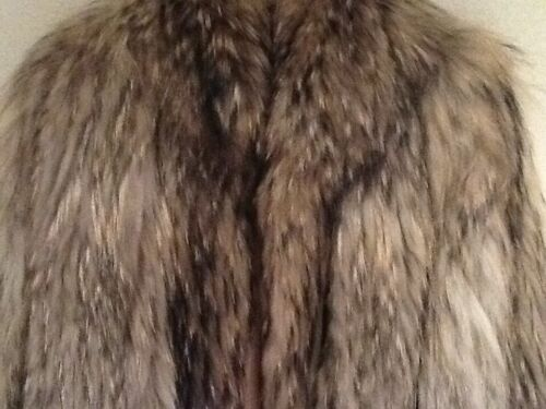 Brand Fur 8 Ladies Coat Racoon New 100 qrqxSFP