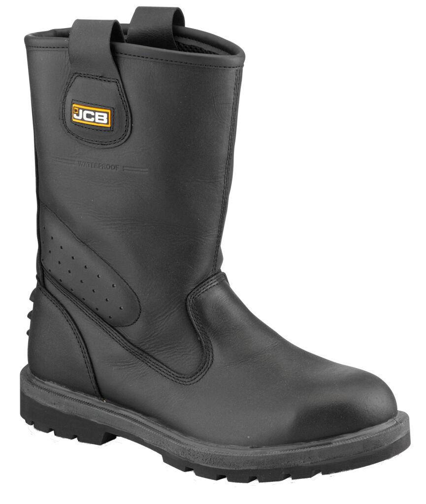 JCB Größe Herren trackpro Ausleger schwarz leicht Stiefel verschiedene Größe JCB 7197f0