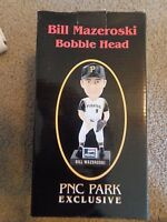 Bill Mazeroski *Pittsburgh Pirates Greats* Bobblehead NEW in Box SGA