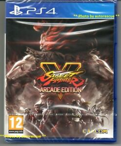 STREET-FIGHTER-V-5-ARCADE-EDITION-034-NUOVO-amp-Sealed-039-PS4-quattro