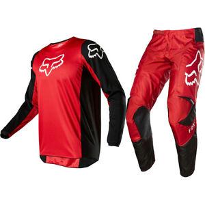 36 Fox Racing 180 Off-Road MX SxS Gear Set FAZR Black//Red//White Men/'s XLarge