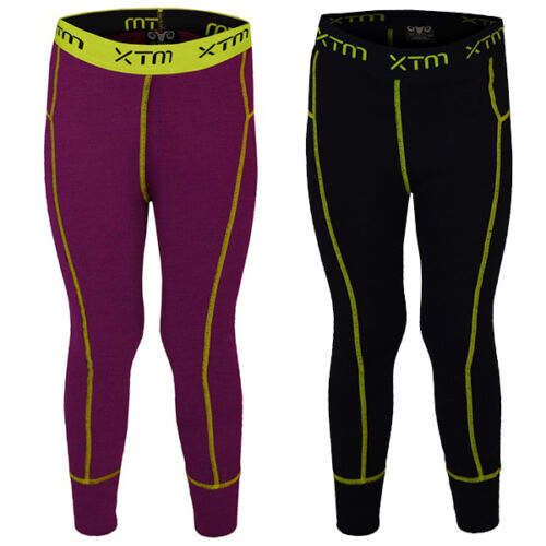 XTM Merino Kids Winter Thermal Underwear Garment Pants Sizes 4-12