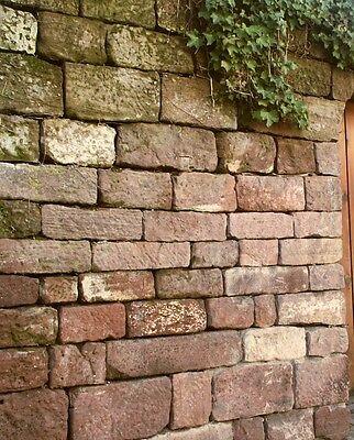 Initiative 1,5 T Buntsandstein € 335/t Natursteinmauer Bruchsteine Trockenmauer Gartenmauer Dauerhafter Service