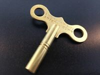 Ingraham Clock Key Trademark 6 Key 3.6mm Solid Brass