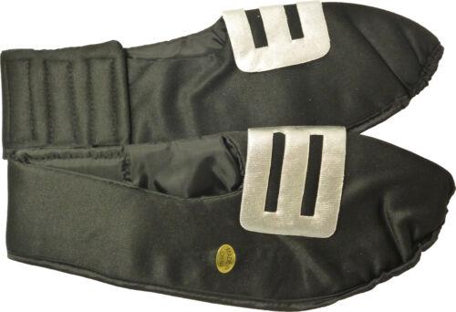 Déguisements Adulte couvre chaussure avec boucle argent 31cm de l'avant vers l'arrière hw252