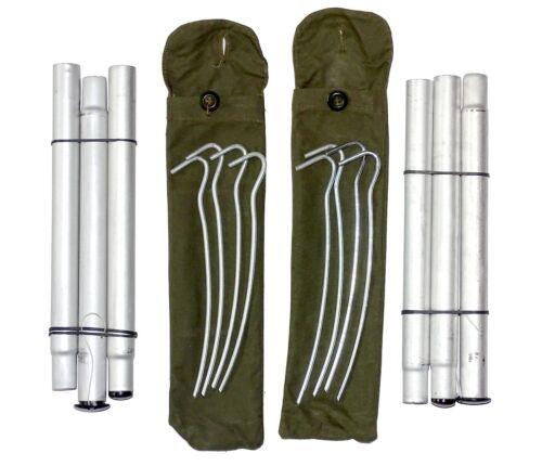 Army surplus polonais /& chevilles set x2 pour tente Bivi Teepee Basha refuge d/'urgence