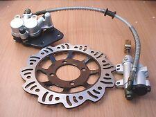 Footbrake Brake Cylinder Caliper Pads Disk XR50 CRF50 90cc 110cc 125cc Bike